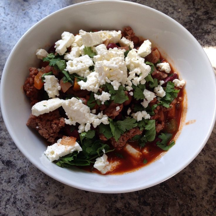 21 day fix approved Red Wine and Turkey Chili