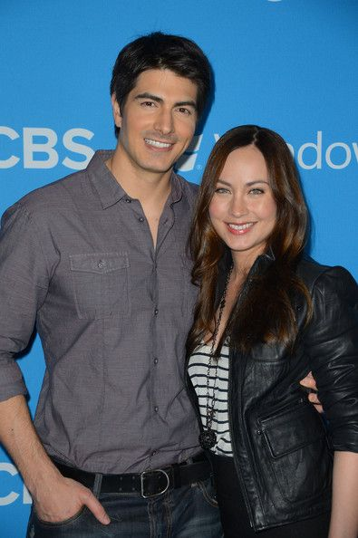 Brandon Routh Photos - Actor Brandon Routh (L) and Courtney Ford arrive at CBS 2012 fall premiere party held at Greystone Manor Supperclub on September 18, 2012 in West Hollywood, California. - CBS 2012 Fall Premiere Party