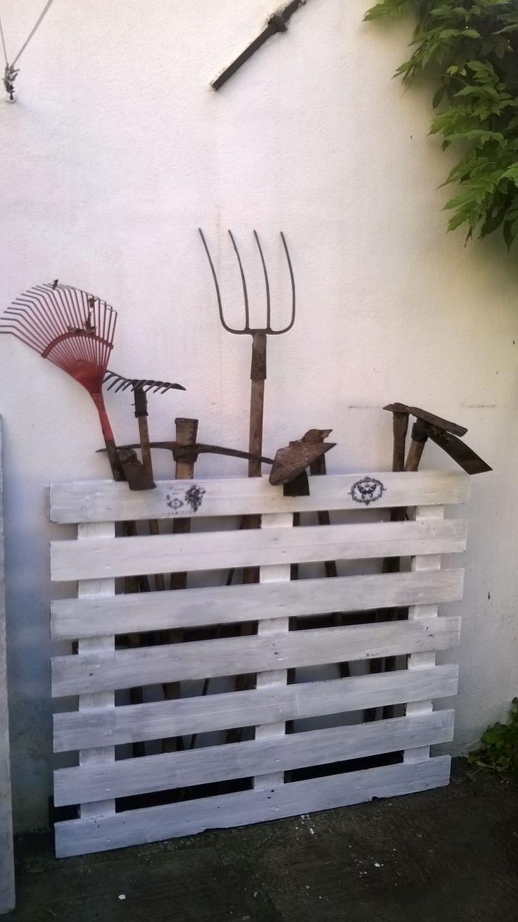 Porta attrezzi da giardino