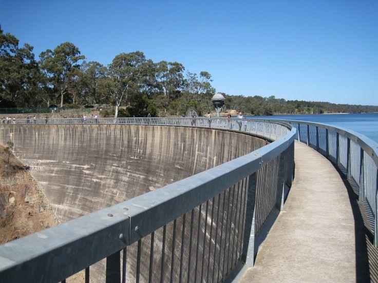 The Whispering Wall - Barossa Reservoir - South Australia