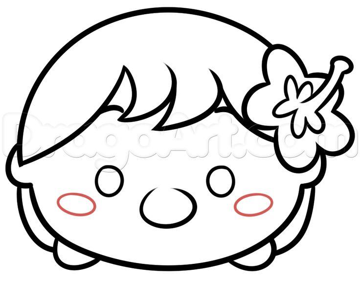 Disney Tsum Tsum Libro Para Colorear En Línea De Arte En: Mejores 65 Imágenes De Tsum Tsum A Colorear En Pinterest