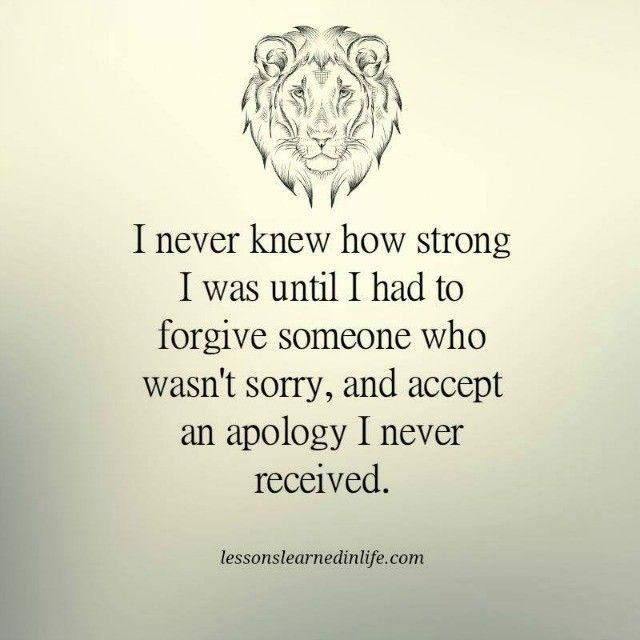 Lessons Learned in Life   I never knew how strong I was.