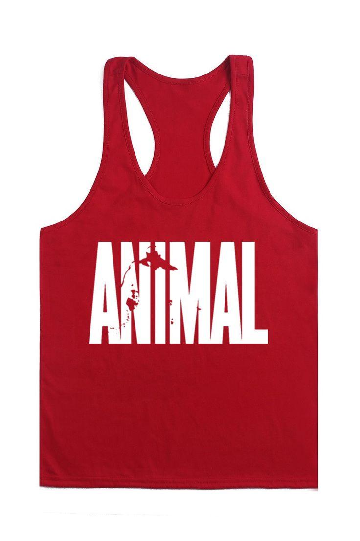 New animal series Men Tank tops golds gymshark Plus Size summer style bodybuilding stringers Vest men masculina tops fitness