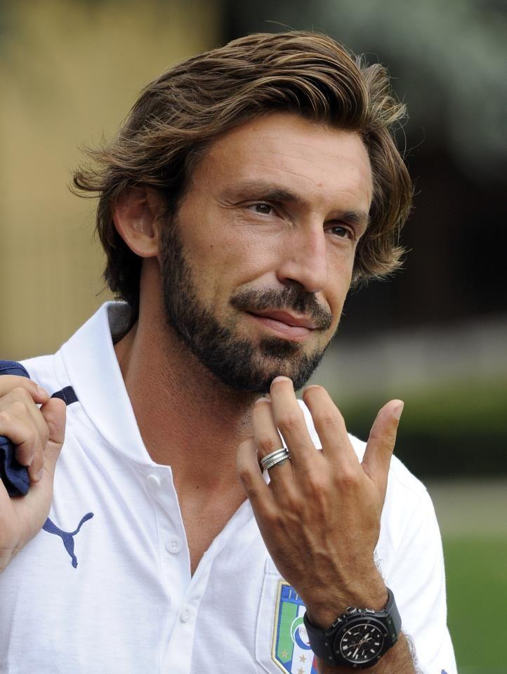 Andrea Pirlo...non è male questo foto! ;D
