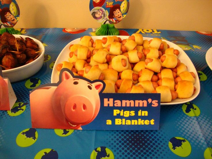Toy story theme food ideas. Doing this for my lil guy bday this year!