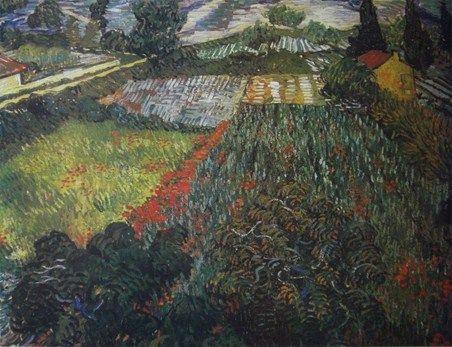 Poppy Fields Vincent van Gogh #impressionism