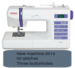 Janome DC2014, another nice tool from Janome