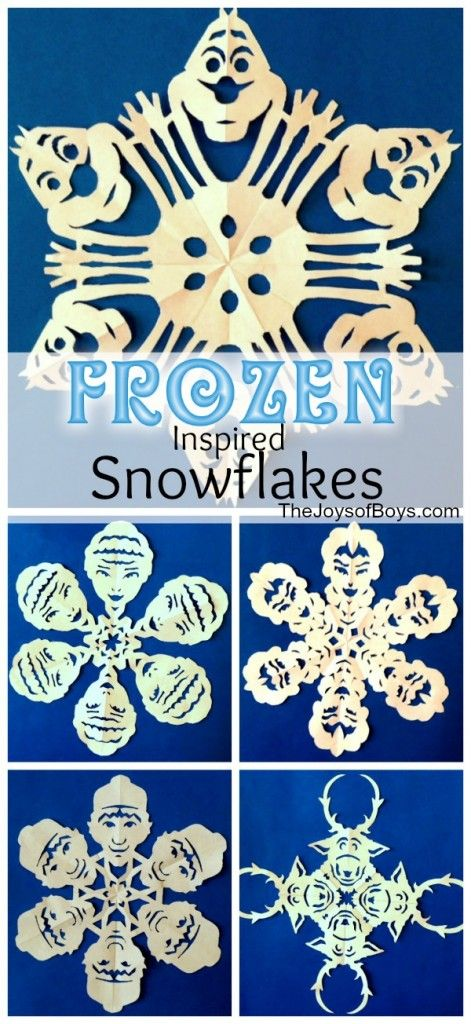 Frozen Snowflakes - The Joys of Boys