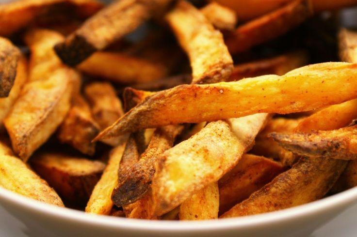 Recept: Zoete aardappel friet
