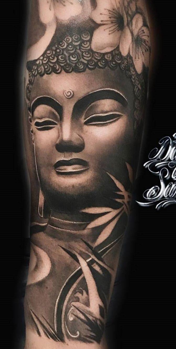 Pin By Aung Pyae On Tattoo Buddha Tattoos Buddha Tattoo Design Buddha Tattoo Sleeve
