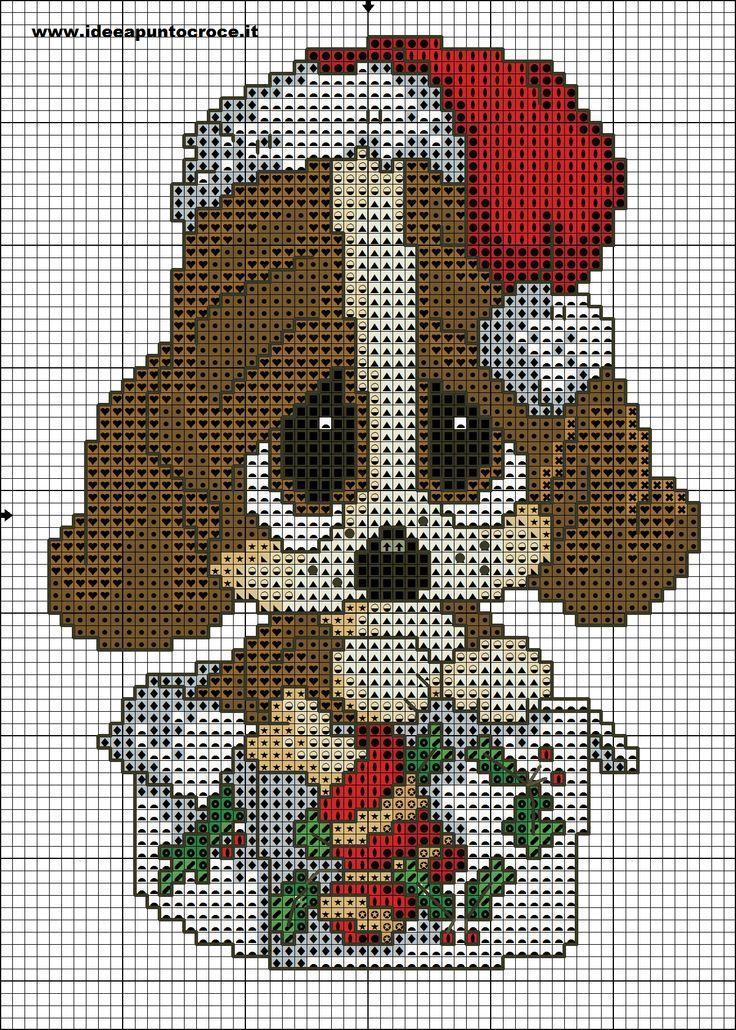 Cross Stitch *♥* schema sad sam natalizio