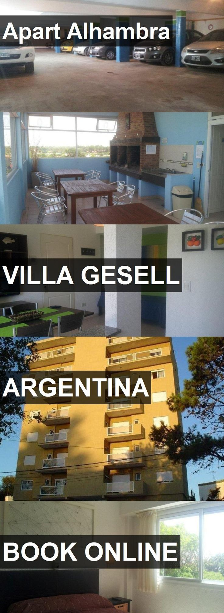 Hotel Apart Alhambra in Villa Gesell, Argentina. For more information, photos, reviews and best prices please follow the link. #Argentina #VillaGesell #travel #vacation #hotel
