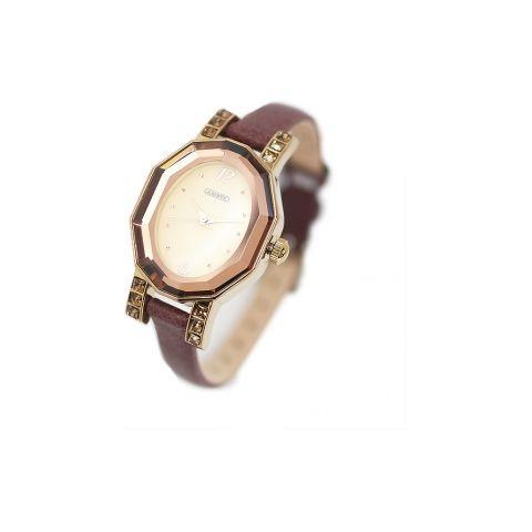 オーバルフェイスベルト時計/ブラウン(ABISTE [アビステ] の時計)