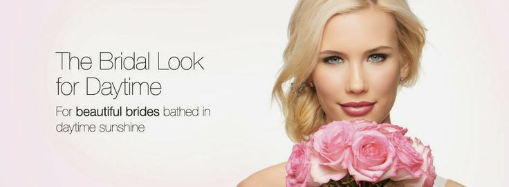 Mary Kay bridal look for daytime