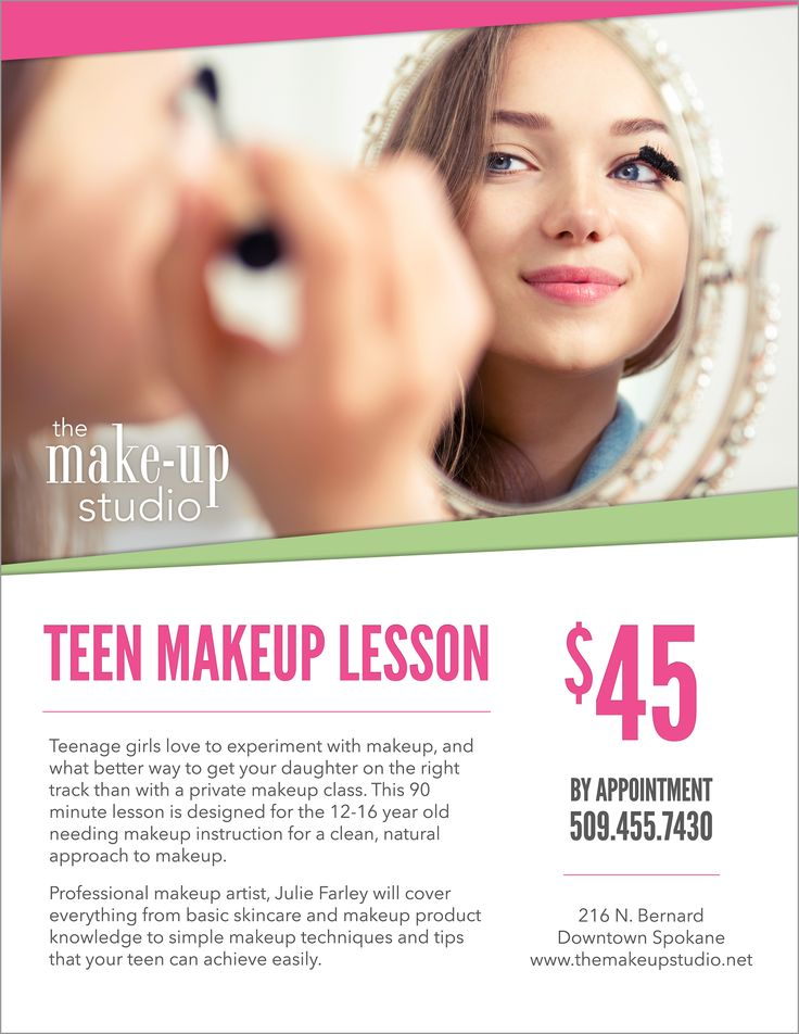 Teen Makeup Lesson at The Make-up Studio http://themakeupstudio ...