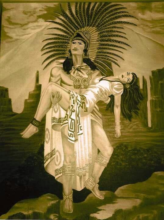 Amor Eterno by Evangelina Portillo   Aztec Mayan Art ...