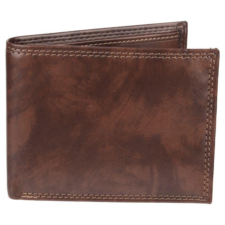 Wemco Men's Passcase Rfid Wallet - Brown
