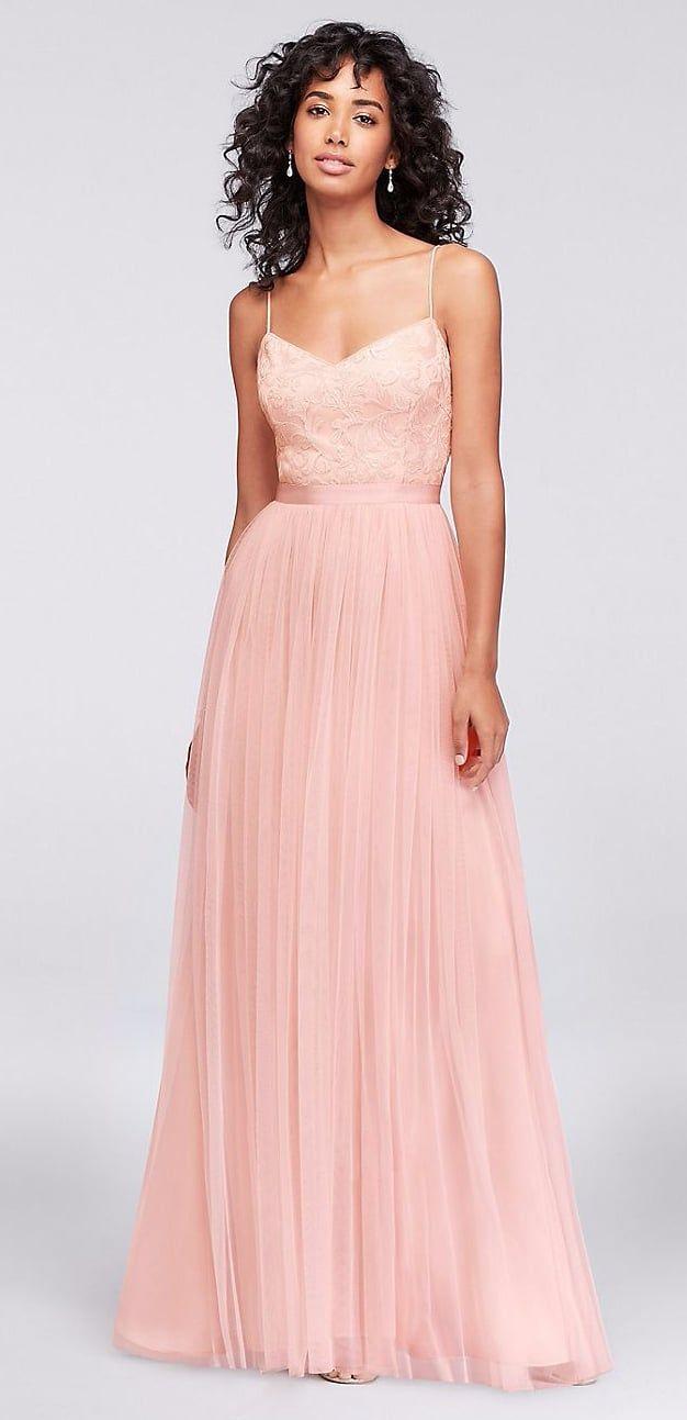 Mejores 146 imágenes de Blush Bridesmaid Dresses en Pinterest