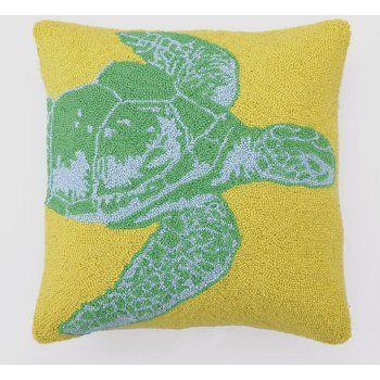 Jellybean Tropical Seaturtle Rug #16120 - Nautical Seasons