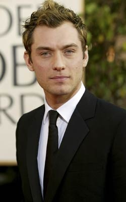 Jude Law...there's nothing better than a british guy