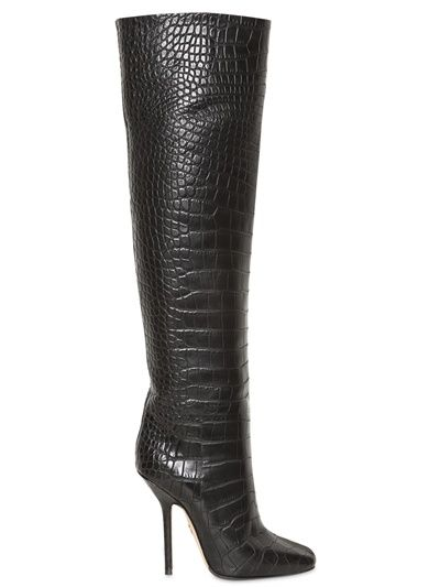 EMILIO PUCCI - SOFT CALFSKIN OVER  THE KNEE BOOTS