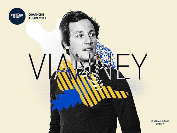 #Festival : #VIANNEY rejoint la programmation de Papillons de nuit ! #P2N17 #P2NPopFestival