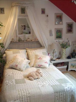 Les 30 meilleures images propos de d co chambre adulte sur pinterest armo - Deco maison romantique ...