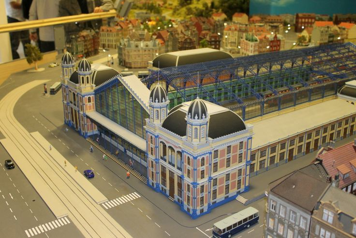 A Nyugati pályaudvar modellje a #Miniversum egyik legszebb darabja.