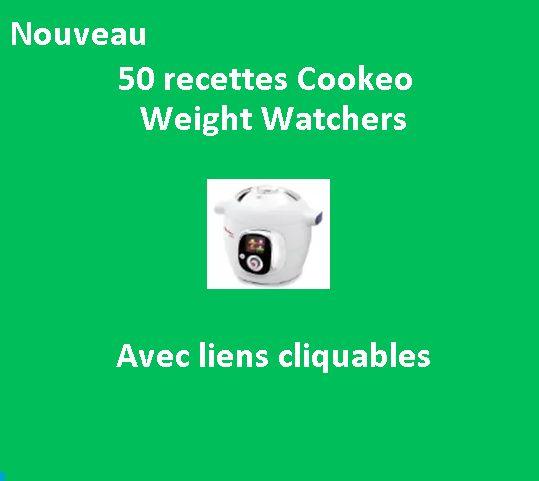 5O fiches recettes cookeo weight watchers avec liens ; Les recettes weight watchers sont chiffrées en SP et PP. Il ne vous reste plus qu'à choisir