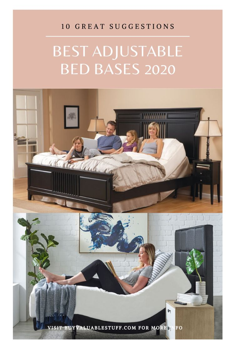 10 BEST Adjustable Bed Bases 2020 (Reviews) in 2020 (With
