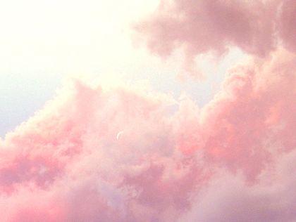 파스텔톤 구름 몽환 텍스쳐