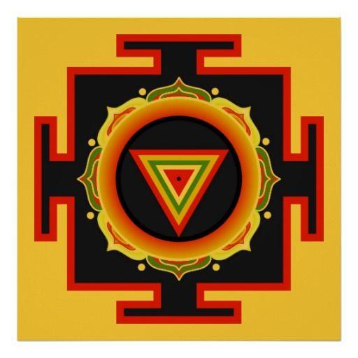 Affiche de Kali Yantra