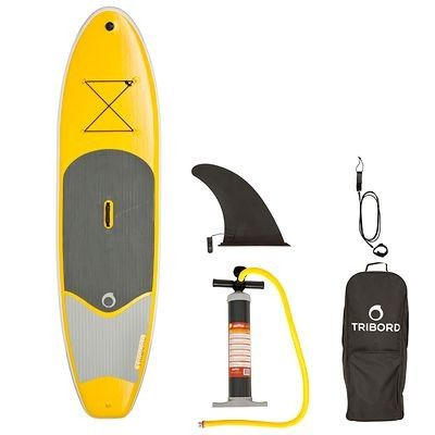 Wassersport_Boot_KanuKajak Bootsport (TRIBORD) - SUP-Board aufblasbar 9'8 TRIBORD - Stand Up Paddle, SUP