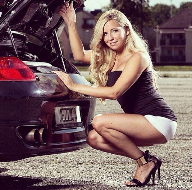 jezzicas porsche cars girls car girls cars en sexy