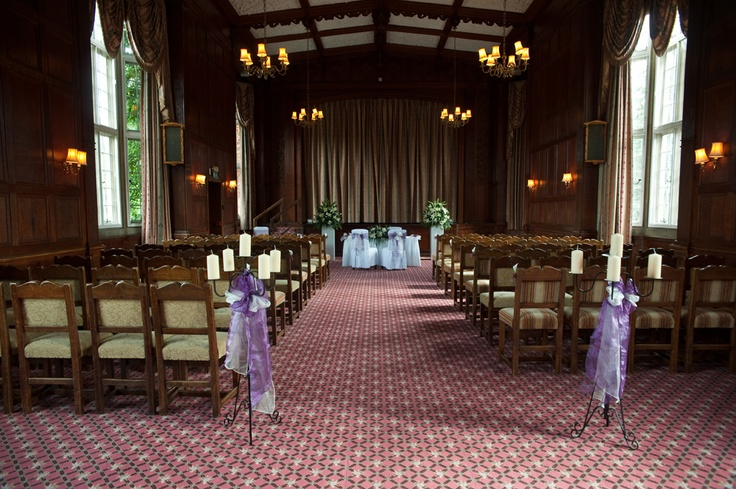 The breathtaking Tylney Suite at Tylney Hall Hotel..