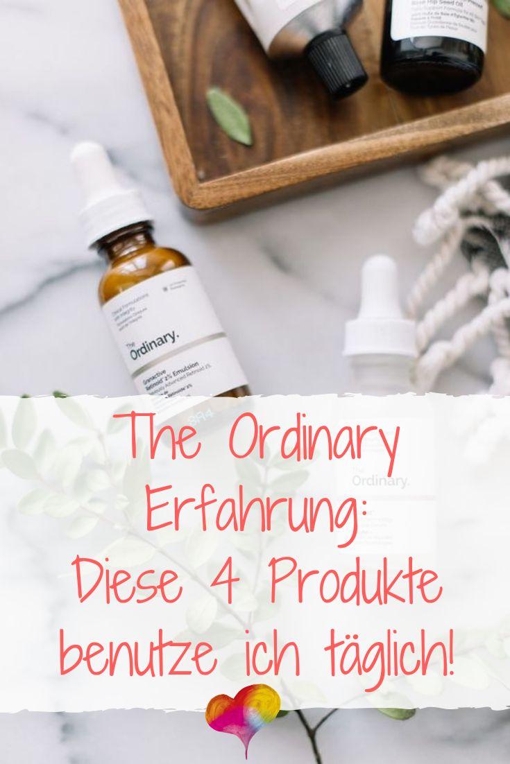 Die gewöhnliche Erfahrung: Ich benutze diese 4 Produkte täglich! – Hautpflege-Tipps