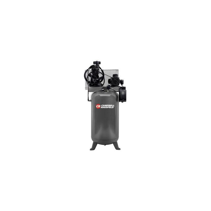 Campbell Hausfeld CE7050 230V 5HP Air Compressor with 80 Gallon Vertical Tank Air Compressors Stationary Electric