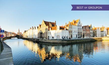 Bruges : 1 à 3 nuits avec petits déjeuners, dégustation bière B Taste en option, à l'hôtel Montanus 4* pour 2 personnes: 99.00€ au lieu de…