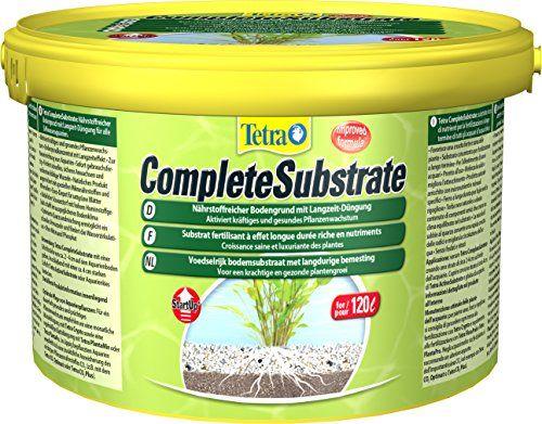 Tetra Complete Substrate (für Pflanzenwachstum und weniger Wasserbelastung, Neueinrichtung von Aquarien Aquarienkies, schnelles Verwurzeln von Wasserpflanzen), 5 kg Beutel Eimer
