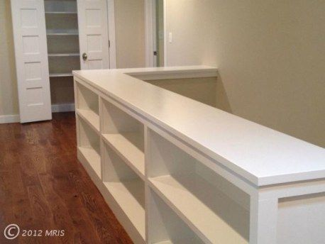 Attic: Built ins...this would be great at the top of the attic stairs