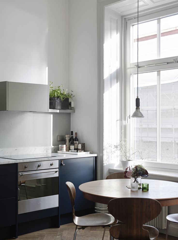 Two toned kitchen design