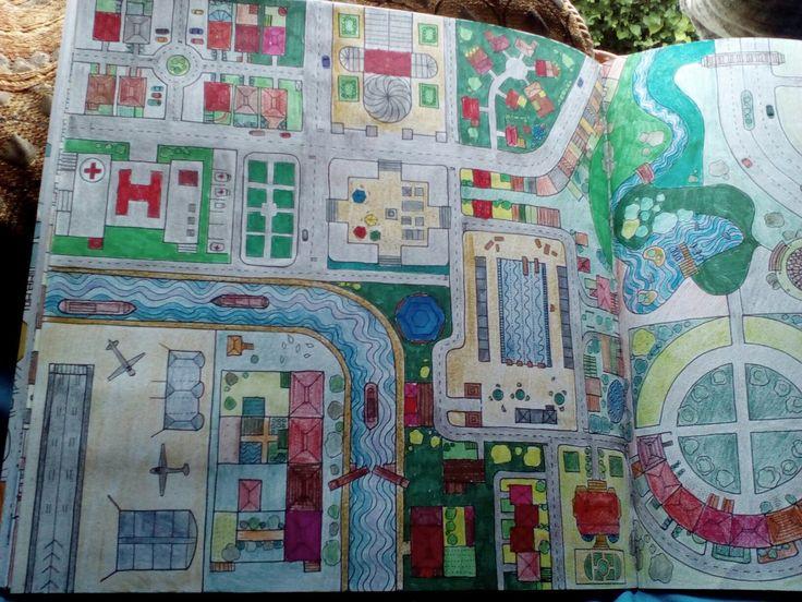 Dream Cities ColouringAdult ColoringColoring BooksDream