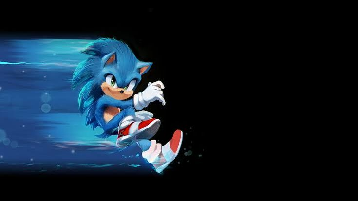 This Can Be A Good Wallpaper Sonicthehedgehog Sonic The Hedgehog Hedgehog Movie Cartoon Wallpaper