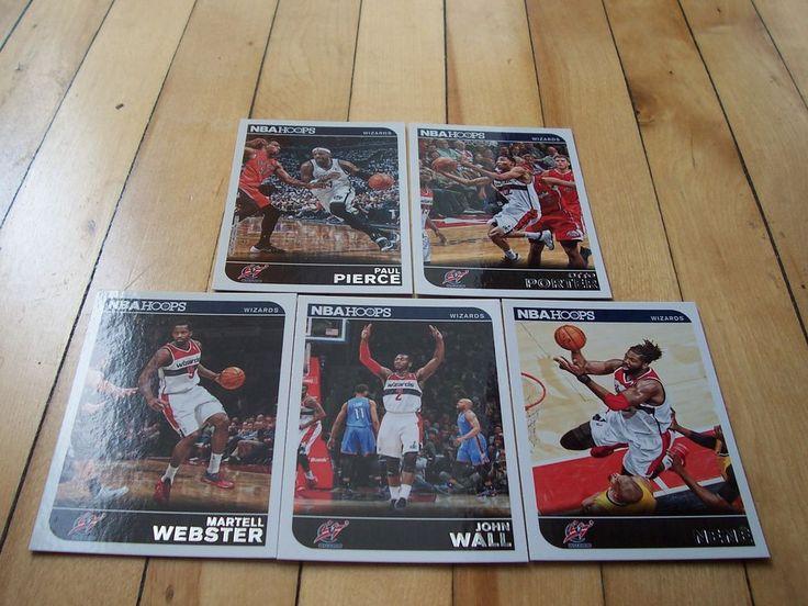 2014-15 Hoops Wizards Lot NENE JOHN WALL MARTELL WEBSTER OTTO PORTER PAUL PIERCE