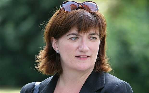 "In her first major policy announcement, Nicky Morgan will say that local authorities will be obliged to use new powers to strip nurseries of their funding if they are found to ""promote extremist views"""