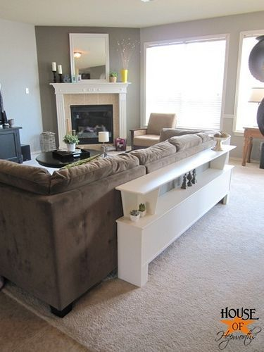 Best 25 Table behind couch ideas on Pinterest Bar table behind