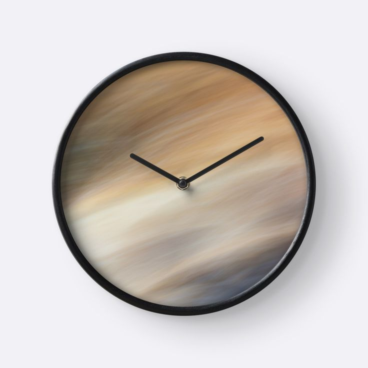 Abstract Summer Breeze clock by Galerie 503