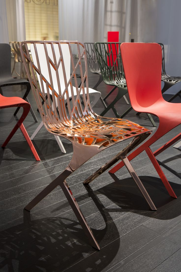 Knoll life chair geek - Washington Skeleton Chair In Copper Finish Salone 2014 Photo By A Osio
