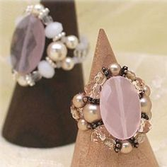 Free tutorial for this pretty ring. Also many more on this site although it is in French so hit translation and have fun.