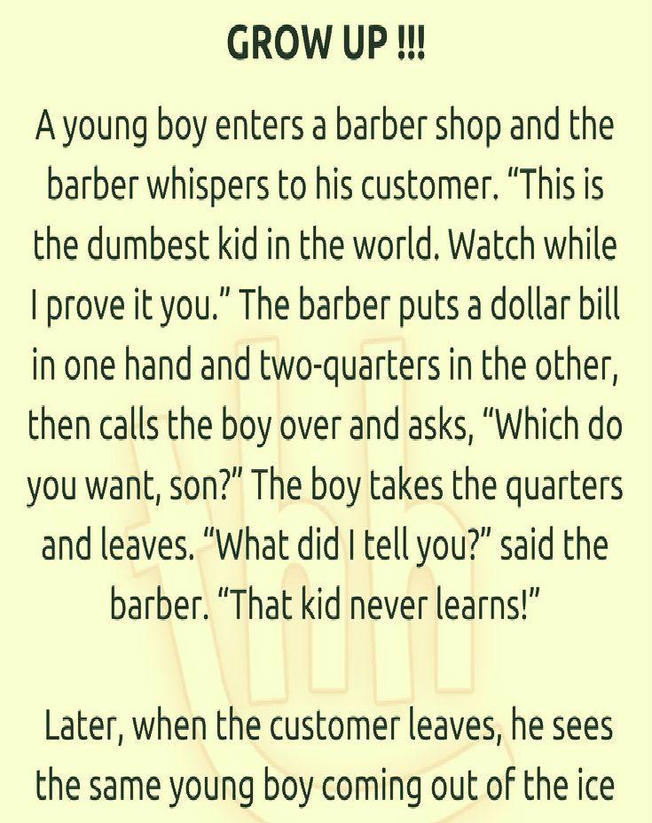 Barber Shop Clean Jokes Funny Jokes Clean Funny Jokes